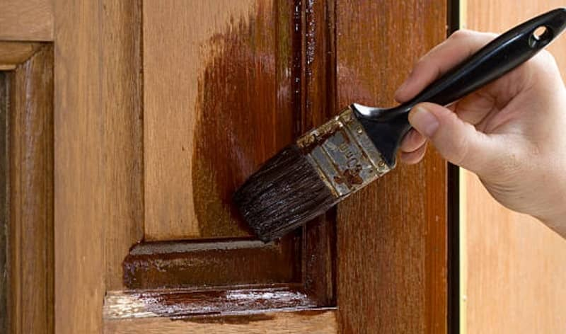 wood stain and sealer